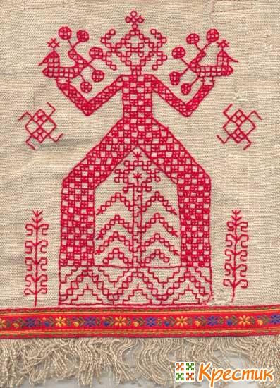 Древняя вышивка славян схемы