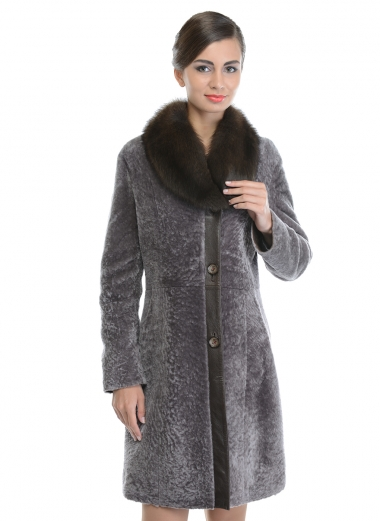 81e8cb5e703 Зимнее Пальто С Меховым Воротником Цена Фото