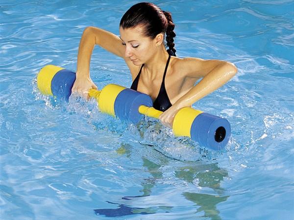 Похудеть с помощью аквааэробики