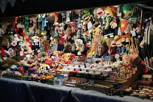 Рождественская ярмарка в Цюрихе, Швейцария