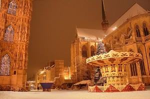 Рождественская ярмарка в Мехелене, Бельгия