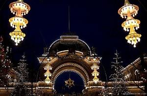 Рождественская ярмарка в Копенгагене, Дания